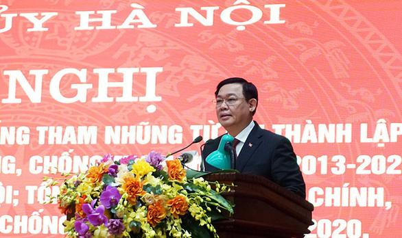 Bí thư Hà Nội Vương Đình Huệ: 'Minh bạch trong quản lý để không thể tham nhũng' - Ảnh 1.