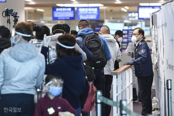 Hàn Quốc ứng dụng mạng 5G kiểm tra COVID-19 tại sân bay - Ảnh 1.
