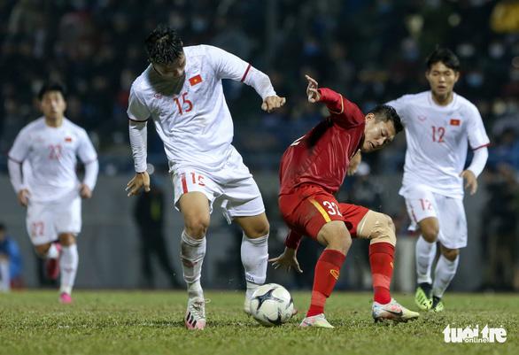 HLV Park Hang Seo giải thích lý do tuyển Việt Nam thua 2 bàn trước đội U22 - Ảnh 1.