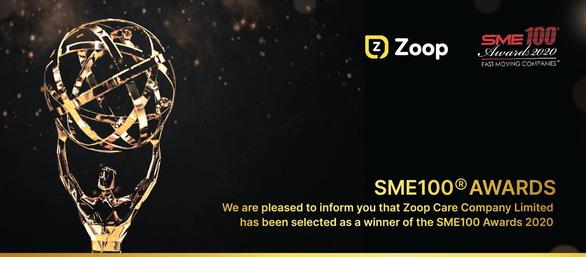 Zoop Care vinh dự nhận giải thưởng SME100® - Ảnh 1.