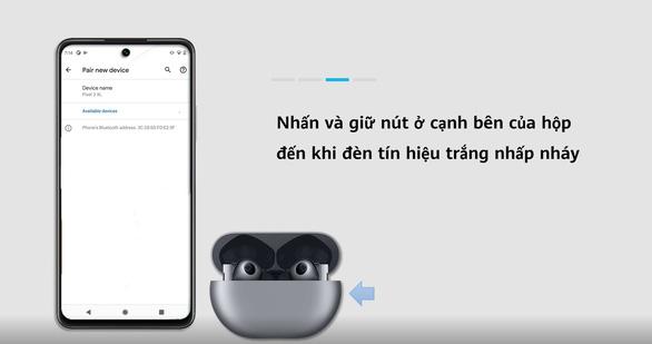 Hướng dẫn kết nối tai nghe Huawei Freebuds Pro trên Android và iOS - Ảnh 1.
