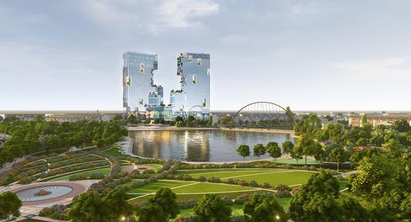 Ecopark xây tháp đôi cao nhất Hải Dương - Ảnh 3.