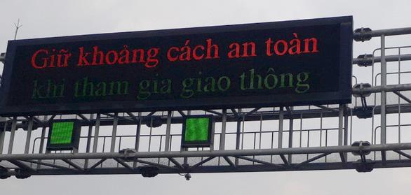 Hoàn thành phục hồi giao thông thông minh trên cao tốc TP.HCM - Trung Lương - Ảnh 2.