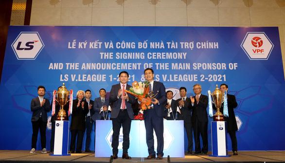 V-League 2021 đã tìm được nhà tài trợ - Ảnh 1.