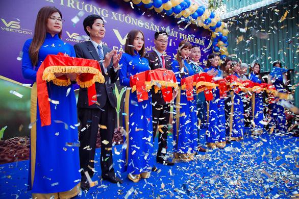 VsetGroup ra mắt xưởng phân bón tại Đồng Nai - Ảnh 1.