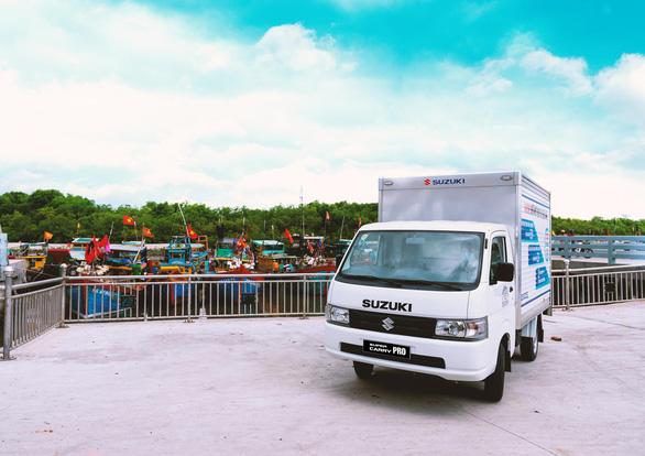 Xe tải nhẹ Suzuki - Nhỏ gọn, hiệu quả cho nhu cầu vận chuyển cuối năm - Ảnh 2.