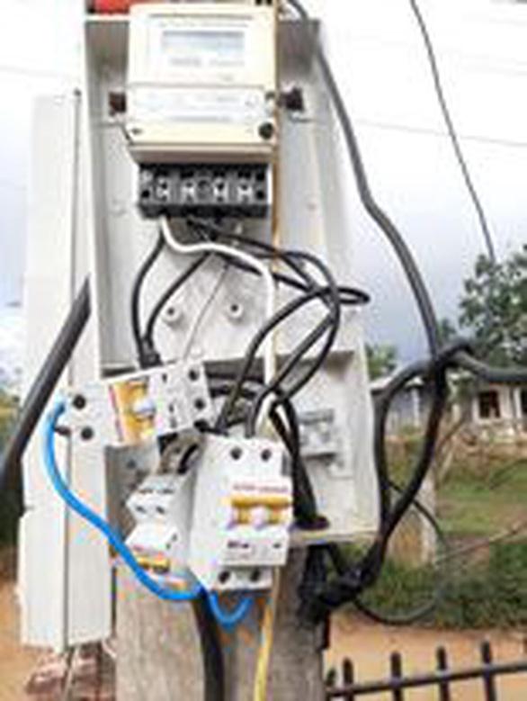 Truy thu trên 4 nghìn kWh điện từ một vụ trộm điện - Ảnh 1.