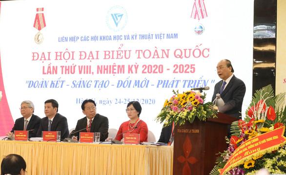 Ông Phan Xuân Dũng làm chủ tịch Liên hiệp Các hội khoa học và kỹ thuật Việt Nam - Ảnh 2.