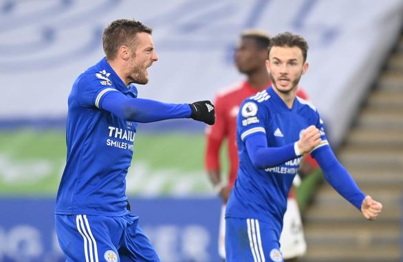 Man Utd bị Leicester cầm chân sau hai lần dẫn trước - Ảnh 4.