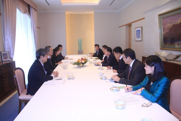 Chủ tịch HĐQT VietinBank gặp mặt song phương với Đại sứ Nhật Bản tại Việt Nam - Ảnh 1.