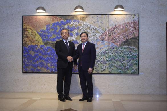 Chủ tịch HĐQT VietinBank gặp mặt song phương với Đại sứ Nhật Bản tại Việt Nam - Ảnh 2.