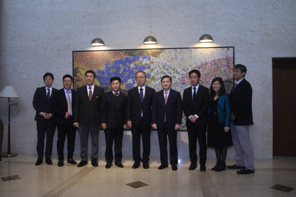 Chủ tịch HĐQT VietinBank gặp mặt song phương với Đại sứ Nhật Bản tại Việt Nam - Ảnh 3.