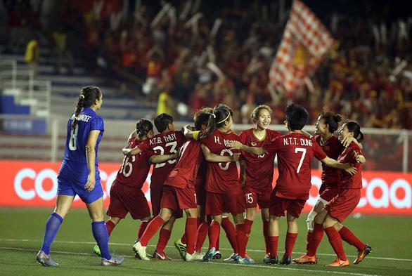 Tuyển nữ Việt Nam sáng cửa dự World Cup 2023 - Ảnh 1.