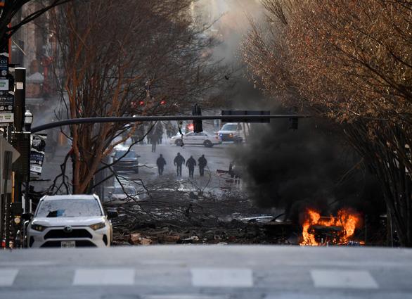 Cảnh sát Mỹ: Vụ nổ lớn ở Nashville là hành động cố ý - Ảnh 1.
