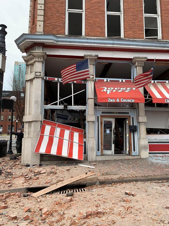 Cảnh sát Mỹ: Vụ nổ lớn ở Nashville là hành động cố ý - Ảnh 2.