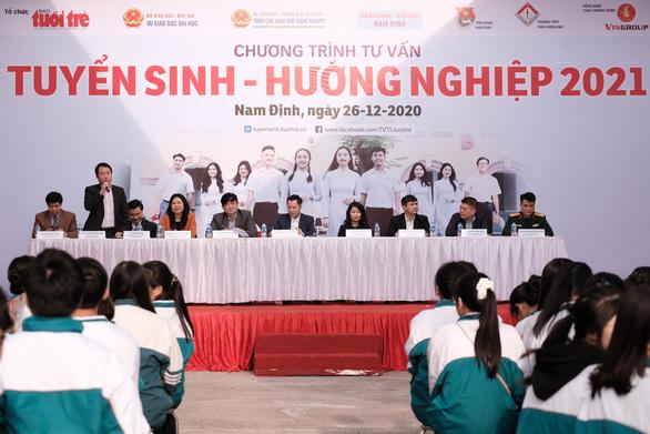 Sáng nay 26-12, tư vấn tuyển sinh tại Nam Định - Ảnh 2.