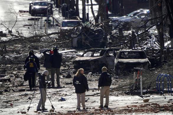 Vụ nổ ở Nashville có thể là đánh bom tự sát - Ảnh 1.
