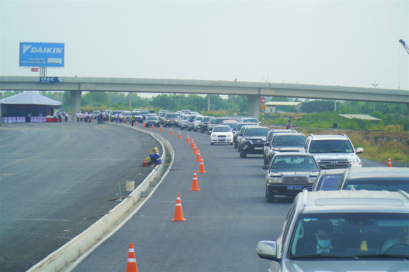 Chính thức thông tuyến cao tốc Trung Lương - Mỹ Thuận - Ảnh 4.