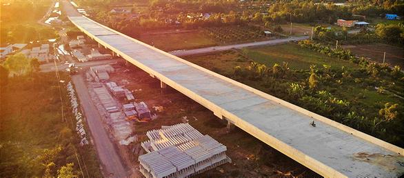 Chính thức thông tuyến cao tốc Trung Lương - Mỹ Thuận - Ảnh 1.