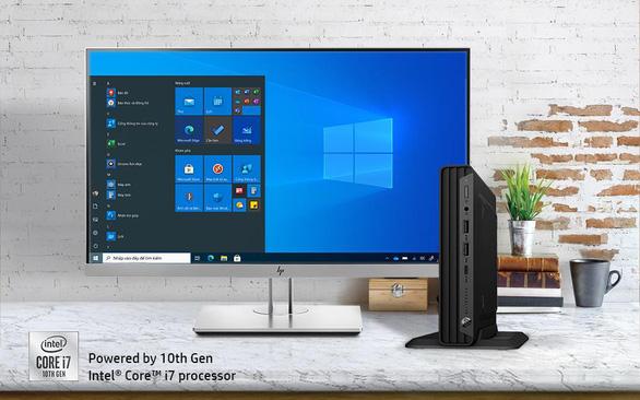 Desktop mini: Xu hướng không gian làm việc nhỏ - Ảnh 4.