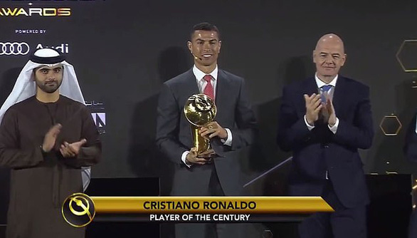 Điểm tin thể thao sáng 28-12: Ronaldo đoạt giải Cầu thủ hay nhất thế kỷ - Ảnh 1.