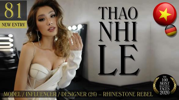 Cô gái con nhà giàu Việt Nam vào top 100 gương mặt đẹp nhất thế giới - Ảnh 1.
