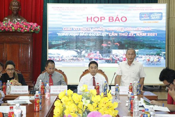 1.500 VĐV dự Giải vô địch quốc gia Việt dã leo núi Chinh phục đỉnh cao Bà Rá - Ảnh 1.