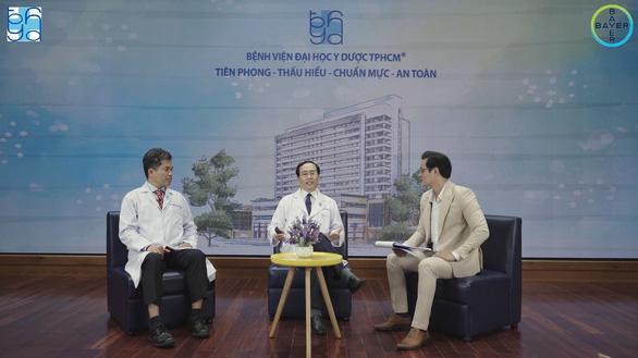 Chương trình tư vấn: Dự phòng đột quỵ ở người bệnh rung nhĩ - Ảnh 2.