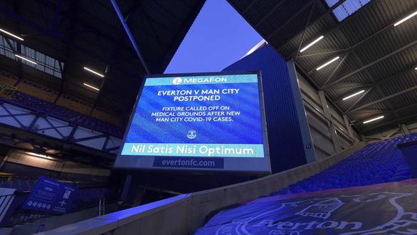 Trận Everton - Man City bị hoãn gần sát giờ vì COVID-19 - Ảnh 1.