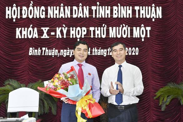 Ông Nguyễn Hoài Anh đắc cử chủ tịch HĐND tỉnh Bình Thuận - Ảnh 1.