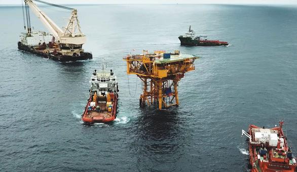 Vietsovpetro chủ động chế tạo, đóng giàn dầu khí trong đại dịch COVID-19 - Ảnh 4.
