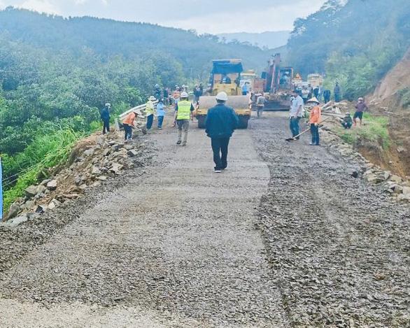 Quốc lộ 26 Khánh Hòa nối Đắk Lắk đã được sửa chữa, thông xe - Ảnh 1.