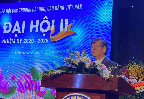Ông Vũ Ngọc Hoàng đắc cử chủ tịch Hiệp hội các trường ĐH, CĐ - Ảnh 1.