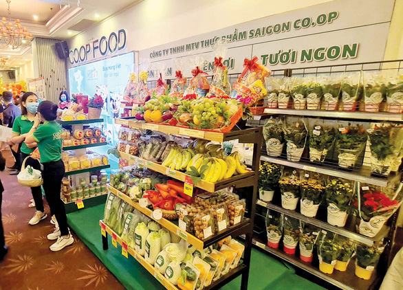 Co.op Food khai trương hàng loạt cửa hàng ngay trước tết - Ảnh 1.