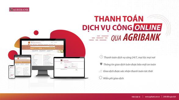 Agribank đẩy mạnh thanh toán điện tử dịch vụ công - Ảnh 1.