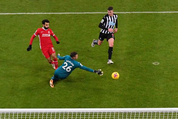 Dứt điểm kém, Liverpool bị Newcastle cầm chân - Ảnh 1.