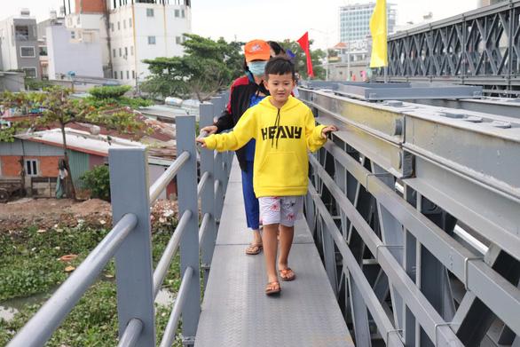 Thông xe cầu An Phú Đông, từ Gò Vấp qua quận 12 hết cảnh qua sông lụy đò - Ảnh 3.
