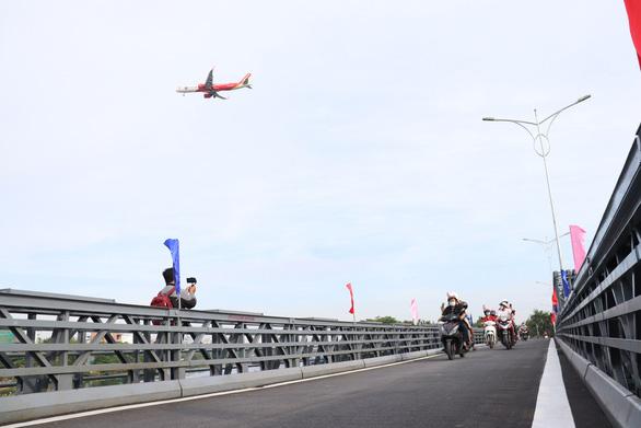 Thông xe cầu An Phú Đông, từ Gò Vấp qua quận 12 hết cảnh qua sông lụy đò - Ảnh 2.