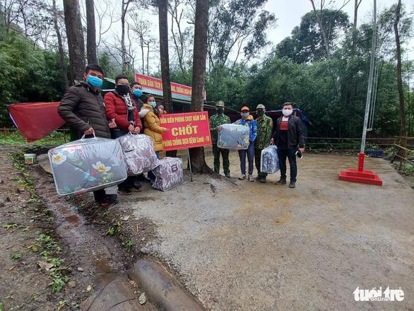 Nghệ An, Hà Tĩnh siết chặt kiểm dịch COVID-19 ở biên giới - Ảnh 4.