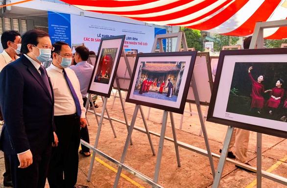 Triển lãm ảnh di sản thế giới của Việt Nam tại đảo Phú Quốc - Ảnh 1.