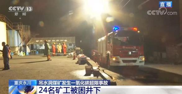 Rò rỉ khí độc tại mỏ than đá Trung Quốc, ít nhất 18 người chết - Ảnh 2.