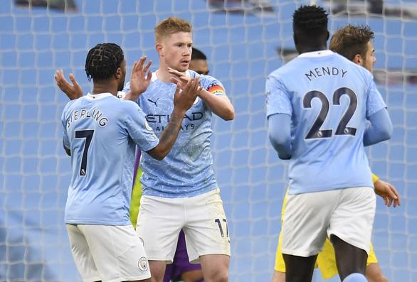 Hạ gục nhanh Fulham, Man City vào top 4 - Ảnh 2.