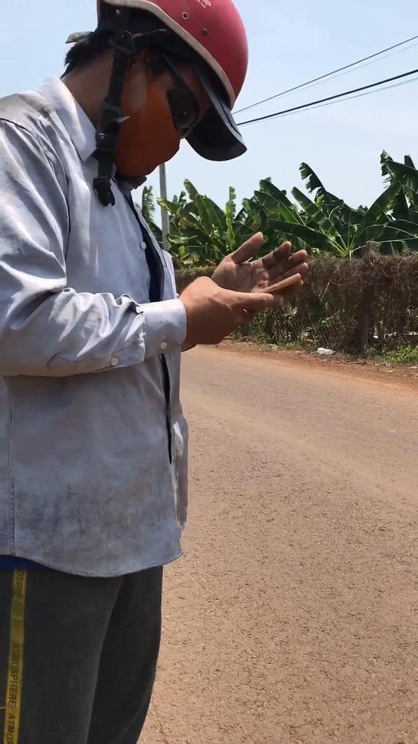 Làm rõ nghi vấn cảnh sát trật tự ở Đồng Nai quay clip tố cáo xe gửi sếp - Ảnh 3.