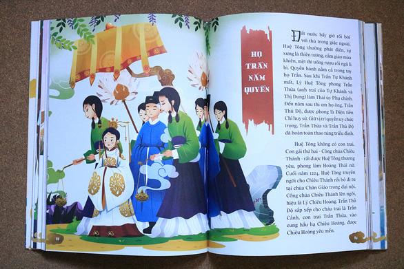 Nữ họa sĩ 9X kể 4.000 năm sử Việt bằng tranh - Ảnh 1.
