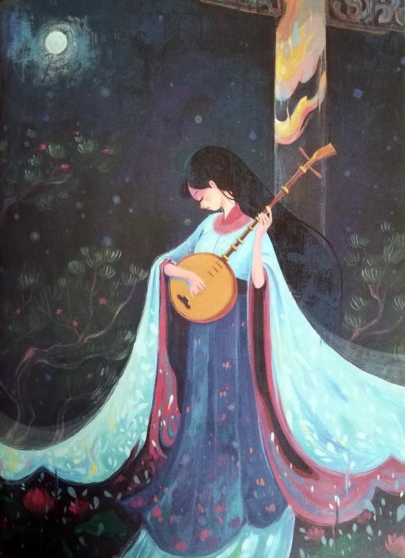 Vẽ chân dung và để cho các nhân vật Truyện Kiều tự lên tiếng - Ảnh 11.