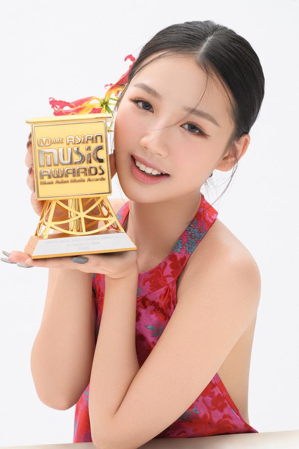Binz, Amee, Quang Đăng nhận giải tại MAMA 2020 - Ảnh 3.
