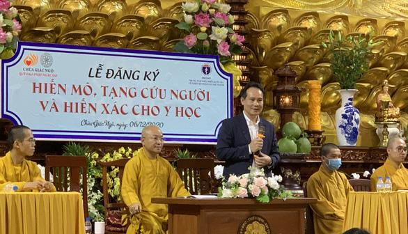 Quỹ đạo Phật ngày nay vận động người hiến mô, tạng và hiến xác cho y học - Ảnh 2.