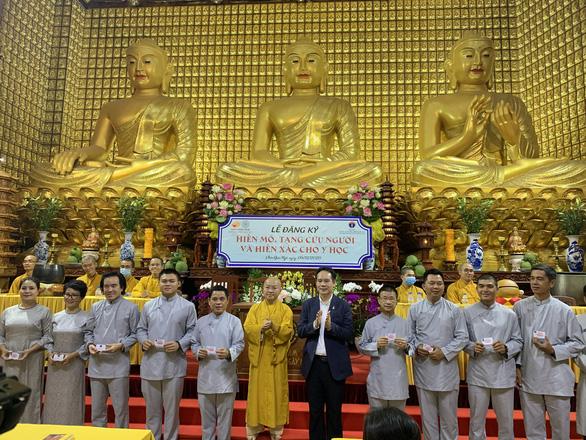 Quỹ đạo Phật ngày nay vận động người hiến mô, tạng và hiến xác cho y học - Ảnh 1.