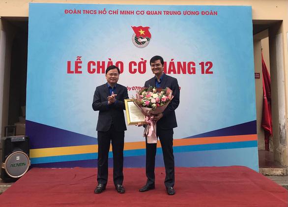 Anh Bùi Quang Huy giữ chức Bí thư thường trực trung ương Đoàn - Ảnh 2.