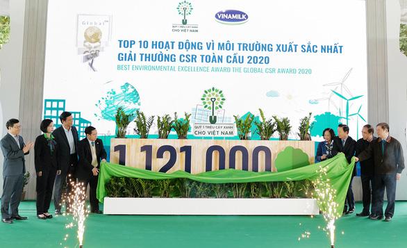 Quỹ 1 triệu cây xanh chính thức chạm đích với 1.121.000 cây xanh - Ảnh 1.